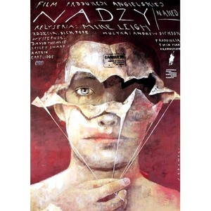Naked, Polish Movie Poster
