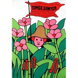 Tomek  Sawyer,  plakat...