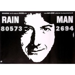Rain Man, Polish Movie Poster