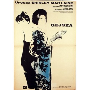 My Geisha, Polish Movie Poster