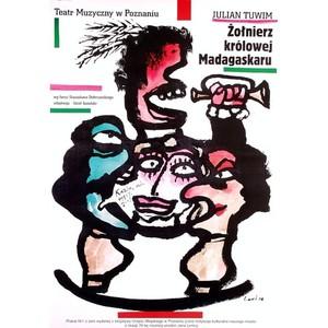 Zolnierz krolowej Madagaskaru