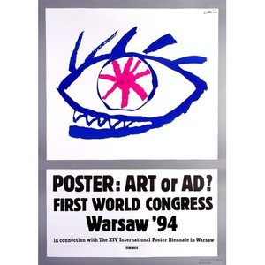Poster - Art or Ad?