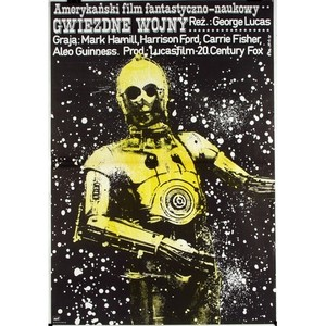 Star Wars, Polish Movie Poster