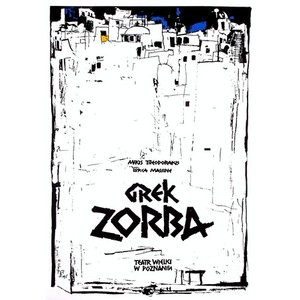 Grek Zorba, polski plakat...