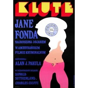 Klute, Polish Movie Poster