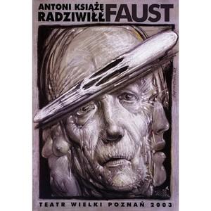 Faust, Polish Opera Poster