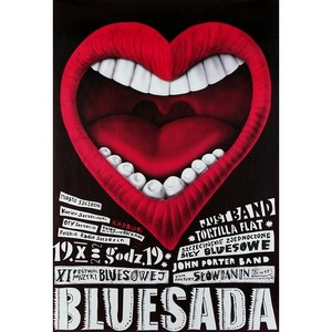 Bluesada, Polish Music Poster