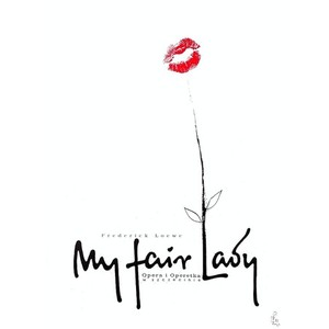 My Fair Lady, polski plakat...