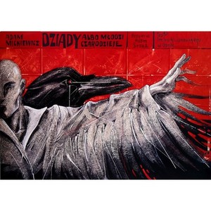 Dziady, Polish Theater Poster