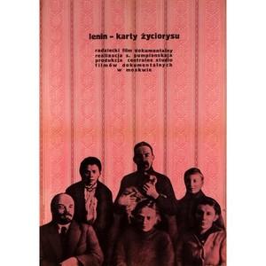Lenin, karty zyciorysu,...