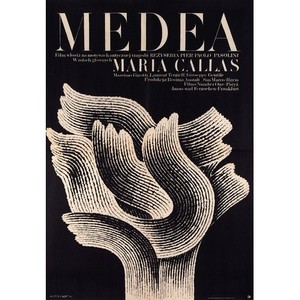 Medea, Polish Movie Poster