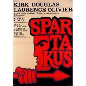Spartacus, Polish Movie Poster
