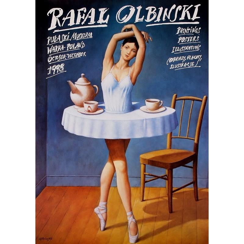 Plakat Rafał Olbiński Polski Plakat Wystawowy