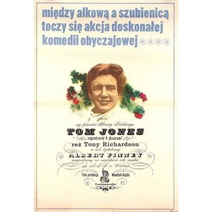 Tom Jones, Polish Movie Poster