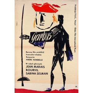 Le Bossu, Polish Movie Poster