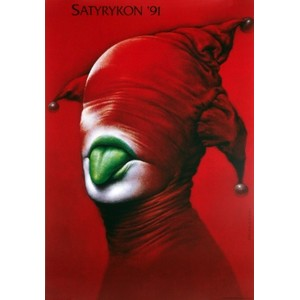 Satyrykon 91, Polish Poster