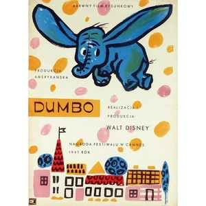 Dumbo, Polish Movie Poster
