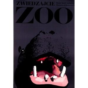 Visit ZOO, Polish Poster