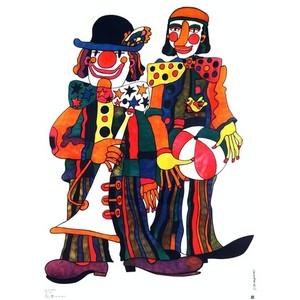 Two Clowns, Polish Circus...