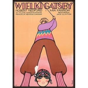 Wielki Gatsby,  plakat...