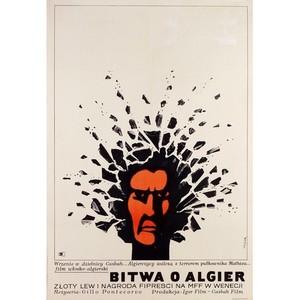 Bitwa o Algier,  plakat...