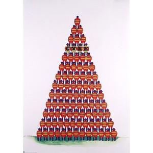 Pyramid of Acrobats, Polish...
