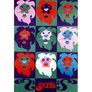 9 Lions, Polish Circus Poster