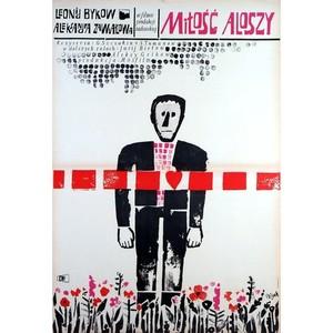 Miłość Aloszy, plakat...