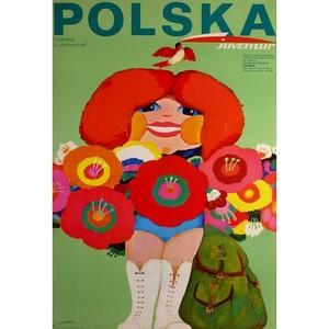 Polska, Polish Tourist Poster