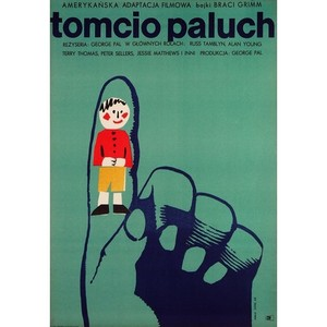 Tom Thumb, Polish Movie Poster