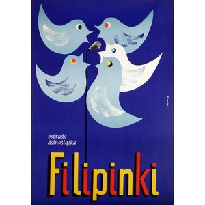Filipinki, Polish Music Poster