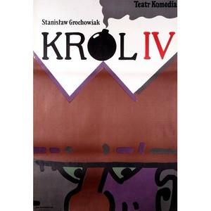 Krol IV, Polish Theater Poster