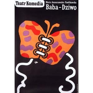 Baba-dziwo, Polish Poster