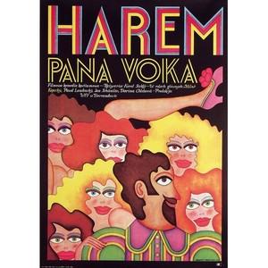 Harem Pana Voka, Polish Poster