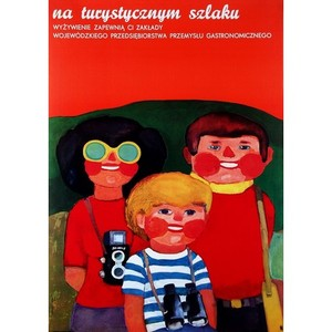 Tourist Family, Polish Poster