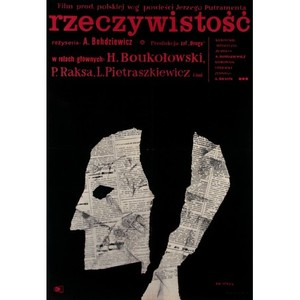 Reality, Polish Movie Poster