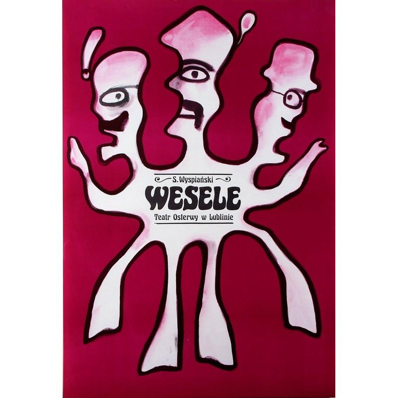 Wesele The Wedding Polish Theater Poster