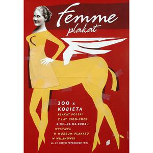 Femme Plakat, Polish Poster