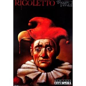 Rigoletto, Verdi,  polski...