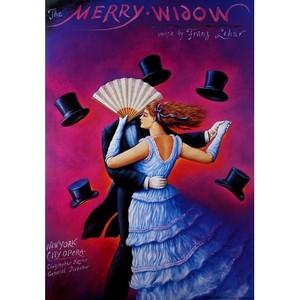 Merry Widow, Lehar,  polski...