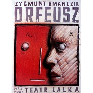 Orpheus, Polish Theater Poster