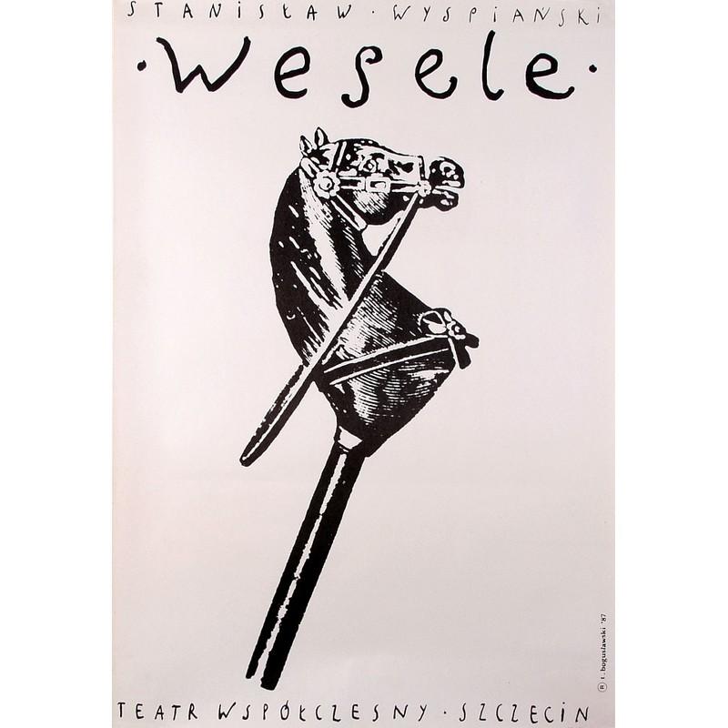 Wesele Wyspianski Polish Theater Poster