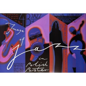 Image of Jazz in Polish Poster