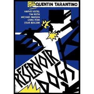 Reservoir Dogs, Polish Poster