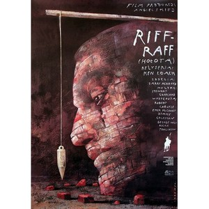 Riff-Raff, Polish Movie Poster