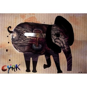 CYRK Elephant Polish Art...