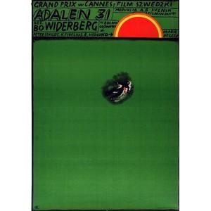 Adalen 31, Polish Movie Poster