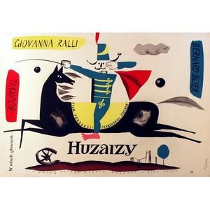 Huzarzy,  plakat filmowy,...