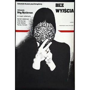 Bez wyjścia, polski plakat...