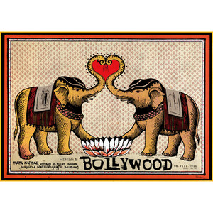Bollywood Films, Polish Poster